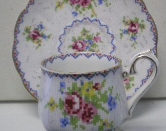 Royal Albert Demi Cup and Saucer England