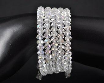 Beautiful Crystal Wrap Bracelet