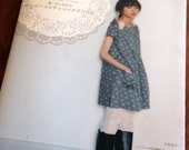 Japanese Pattern Book - Stylish Dress Book - Adult Couture
