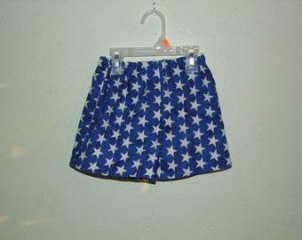 Blue Stars Shorts