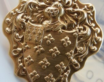 Bigger Pierced Coat of Arms (2 pc)