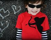 Cupid Valentine's Day kids t-shirt
