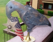 Primitive Americana Crow Make Do