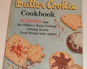 Pillsbury Fun Filled Butter Cookie Cookbook Vintage Softcover Book