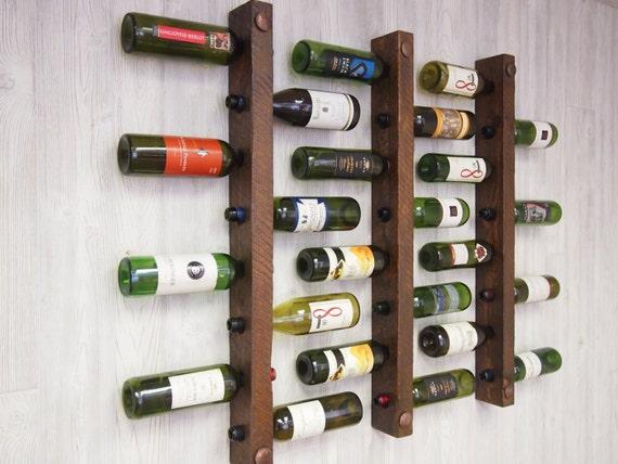 Tuscan Wine Racks, Set of 3 - 8 bottles each