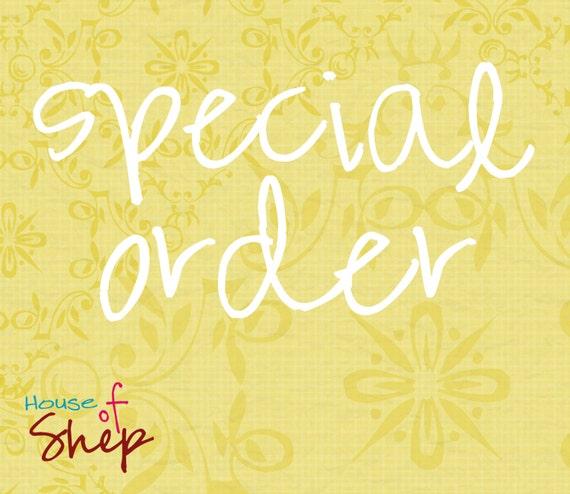 special order for dressageprincess2008