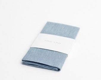 Pocket square, pale blue
