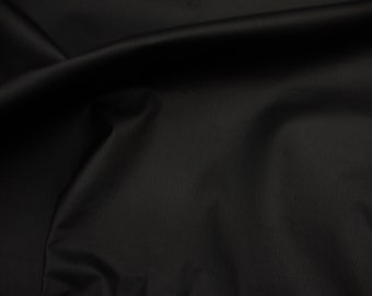 """54"""" Wide Champion Vinyl Black upholstery Leather fabric by the yard"""