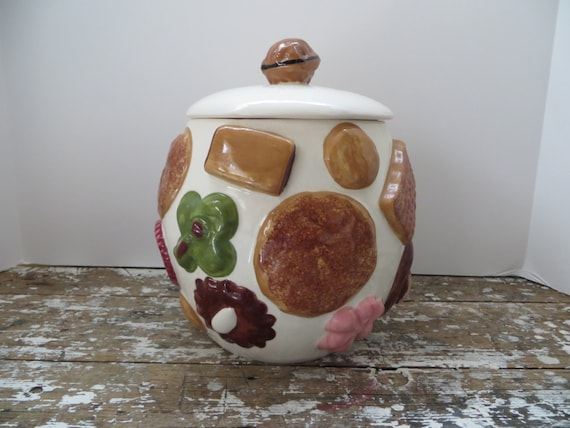 Cookies All Over Los Angeles Pottery Cookie Jar 1950s Pottery