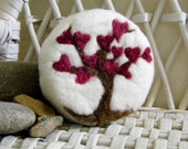 Love Tree Felted Soap