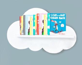 Cloud Wall Shelf- X- Large- No Front Cloud