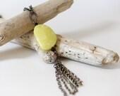 Olive Serpentine Necklace