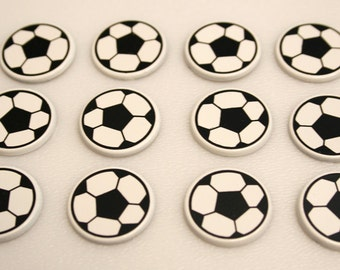 Magnets or Push Pins - Soccer
