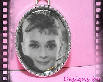 Audrey Hepburn Pendant