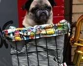 Bike Basket Liner Tote Bag
