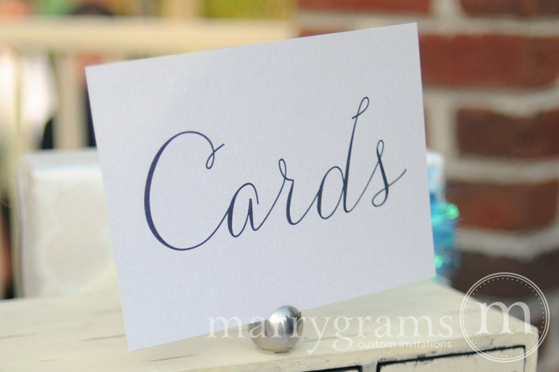Wedding Gift Box Sign : Wedding Cards Table Sign Wedding Table Reception Seating