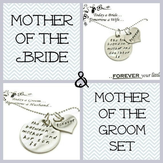 Wedding Gift From Groom To Mother In Law : Sale: Mother of the Bride & Mother of the Groom GIFT SET necklaces ...