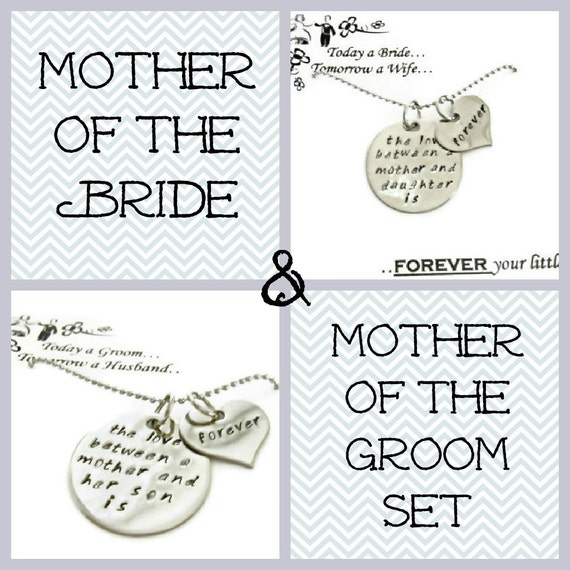 Wedding Gifts Mother Groom : Sale: Mother of the Bride & Mother of the Groom GIFT SET necklaces ...