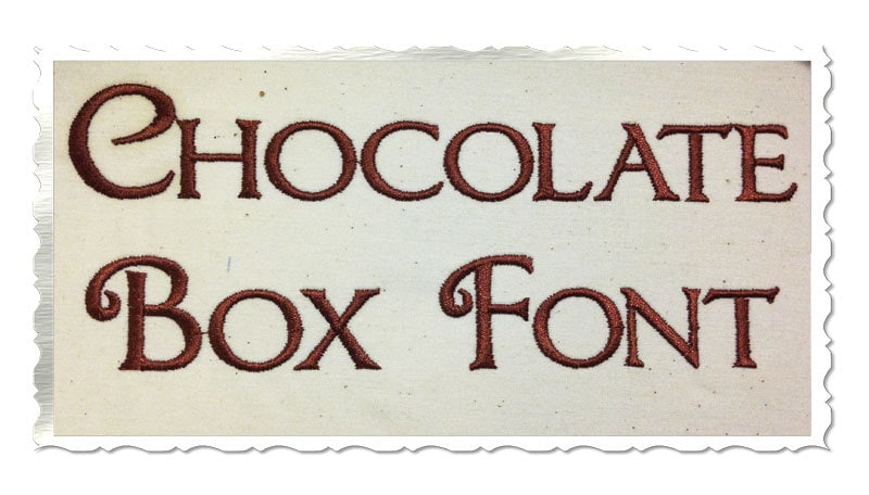 Free Chocolate Box Decorative Font Download - Infos TTF Preview & CharMap