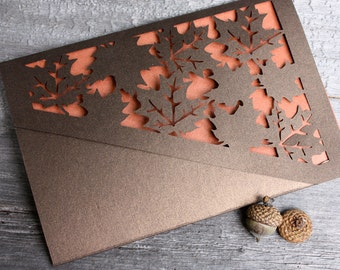 Autumn Leaves Lasercut
