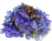 hand dyed Gotland Wool Locks Fleece - 3.5 ounces