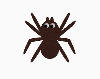 INSTANT DOWNLOAD Spider embroidery design