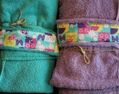 HOODED TOWELS Bath / Beach / Pool -- Baby / Toddler -- Boy and Girl
