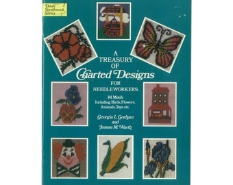 A Treasury of Charted Designs for Needleworkers 141 charted motifs