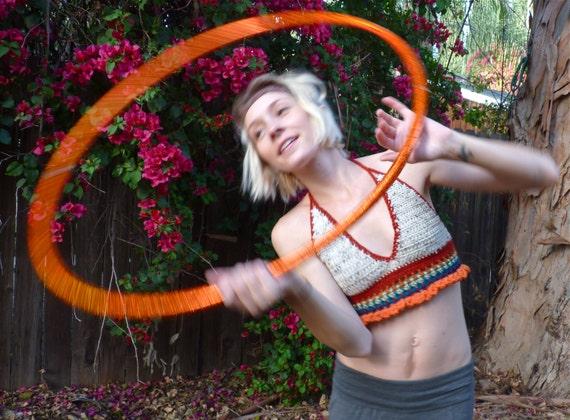 Rainbow Play Crochet Festival Top