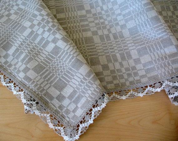 Checkered Cloth Tablecloth : Drawing & Illustration Fiber Arts Glass Art Mixed Media & Collage ...
