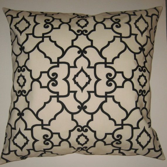 Two 26 x 26 Custom Designer Decorative Pillow Covers