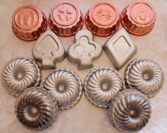 Vintage Baking Molds-Jello Molds