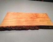 Wooden Cutting Board - Cherry - Live Edge