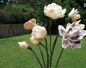 Seashell Flower Bouquet for Wedding or Valentine Gift
