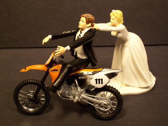 Ktm Wedding Cake Topper