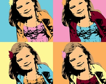 Pop Art Photo Artwork