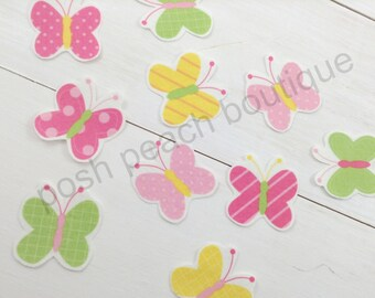 DIY Iron-on Appliques (4) - Spring Butterflies