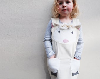 baby girls lamb dress