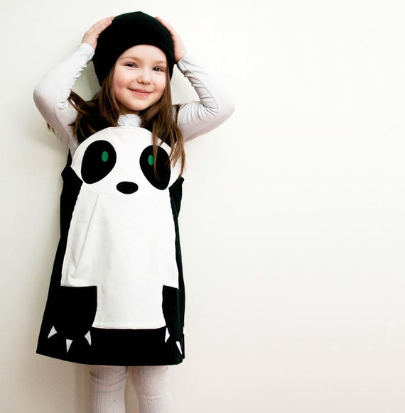 Panda girls play dress