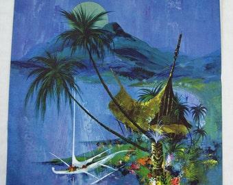Vintage 1970's Frans Van Lamsweerde Hawaii Canvas Print