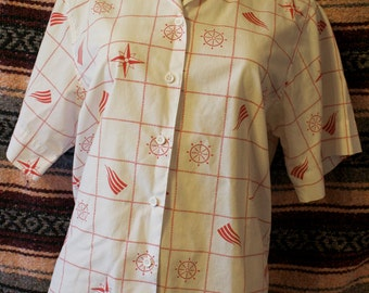 vintage button up carriage court classic