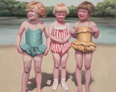 "Three Cousins - 10""x10"" print"