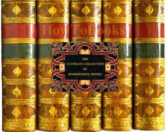 40 Books The Ultimate Collection of RARE BOOKBINDING BOOKS See Customer Reviews