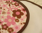 Nursing Pads PUL Product Test Pink Flowers