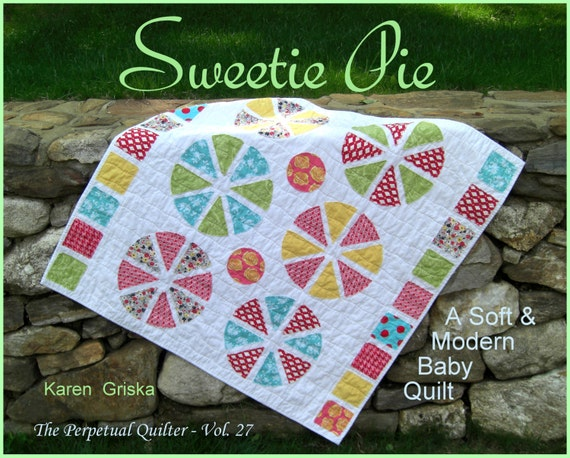 Baby Quilt Pattern, Modern Quilt Pattern, Raw-Edge Quilt, Easy Quilt, PDF, Immediate Delivery, qtm