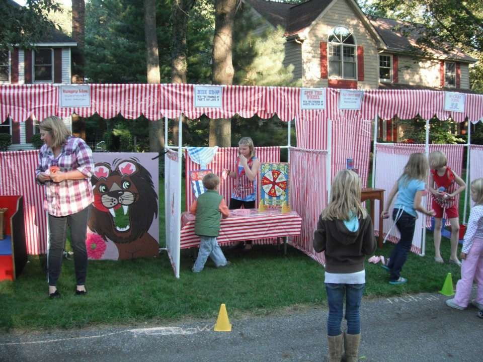 Carnival Booth PVC Frame PLANS DIY Booths