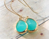 Turquoise Jewelry FREE SHIPPING Drop Earrings Dangle Earrings Bridesmaid Gift Bridal Gift Set Wedding Bridal Jewelry Mothers