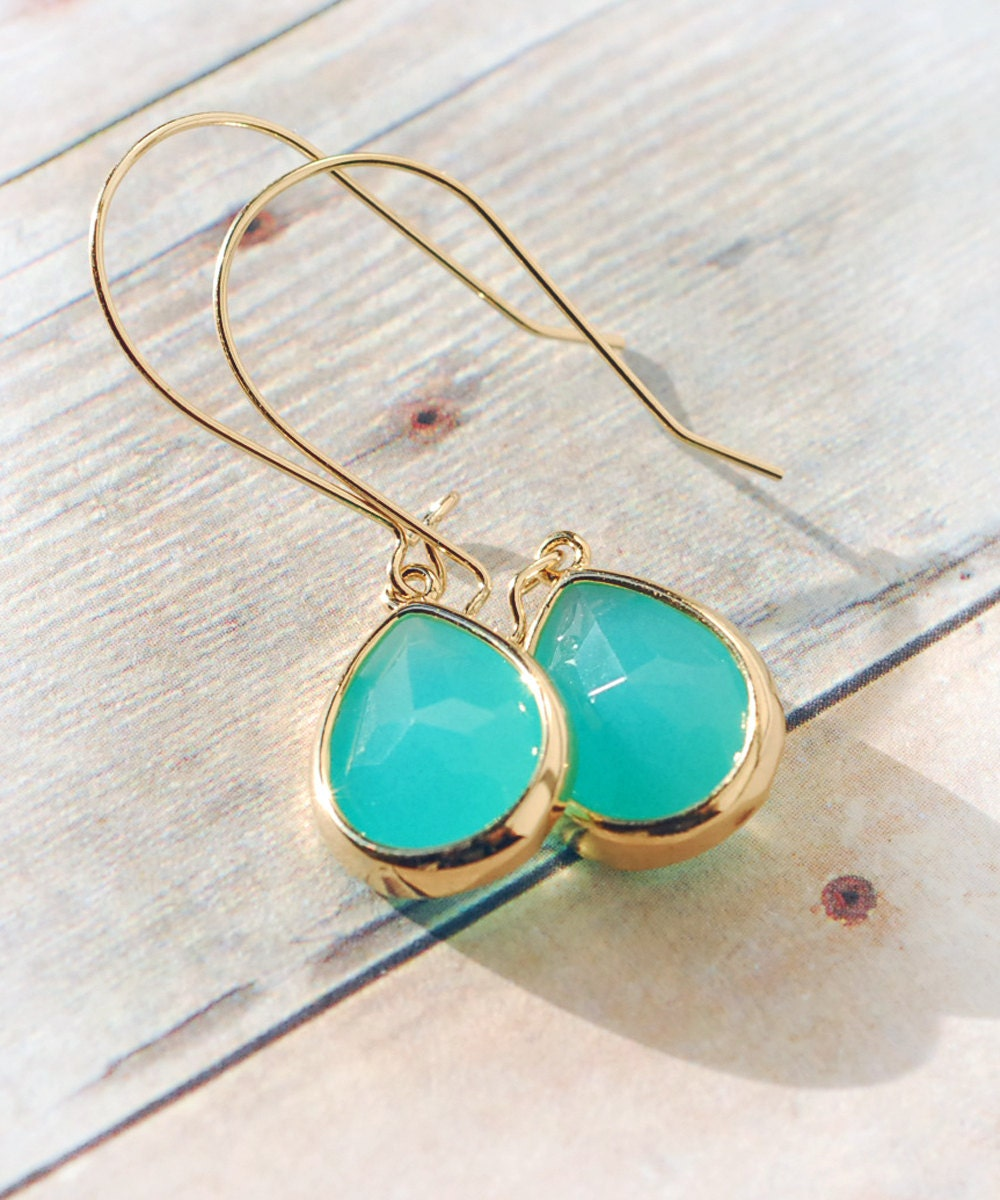 turquoise jewelry free shipping drop earrings by limonbijoux. Black Bedroom Furniture Sets. Home Design Ideas