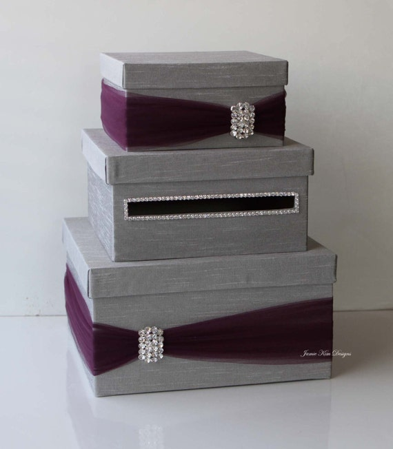 Wedding Gift Card Containers : Wedding Card Box, Money Box, Wedding Gift Card Money Box - Custom Made ...