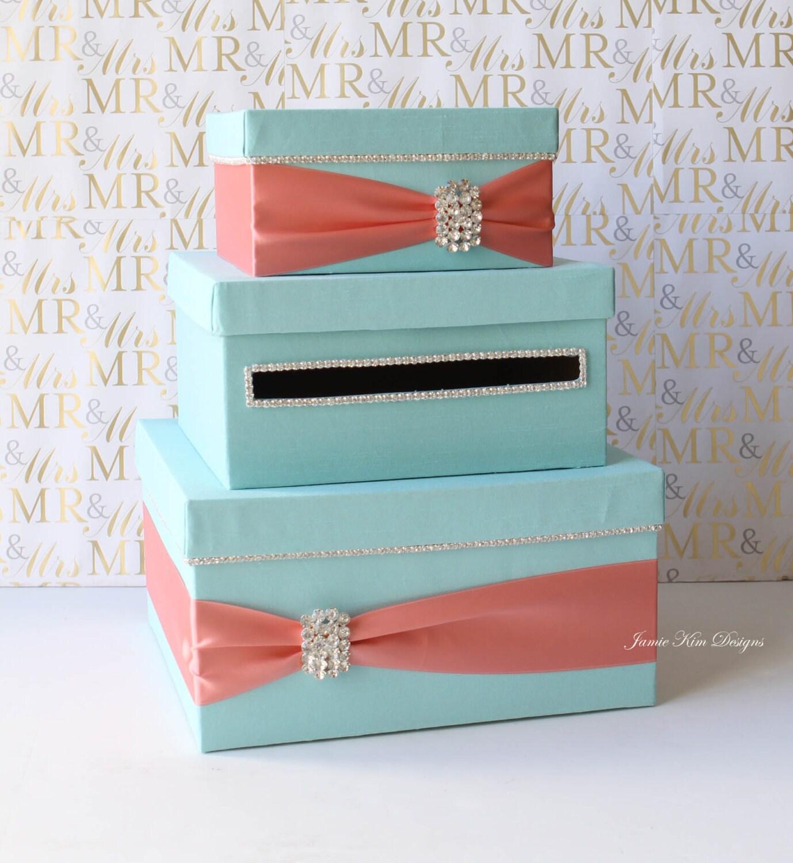 Wedding Gift Box Ideas: Wedding Card Box Money Box Wedding Gift Card Money Box